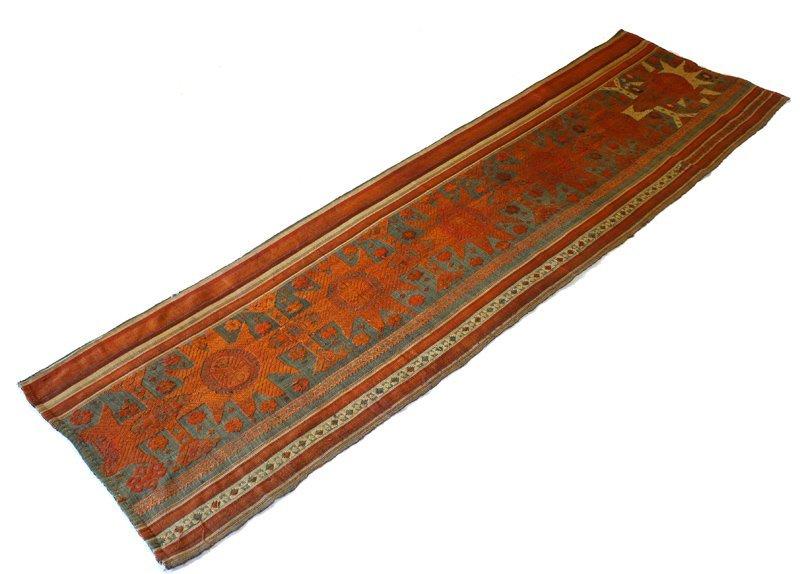 Vintage silk textile tin-sin Laos LSA48