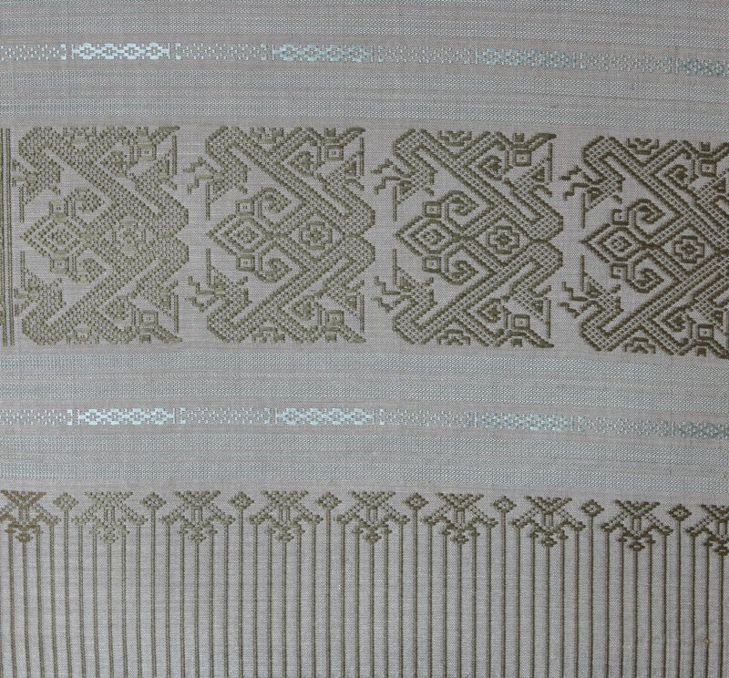 Boutique silk textile from Laos LSS21M