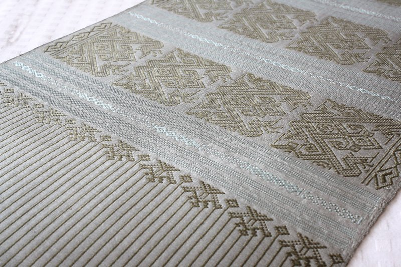 Boutique silk textile from Laos LSS21M4