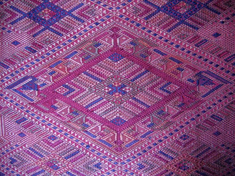 silk weaving Laos SLN04M