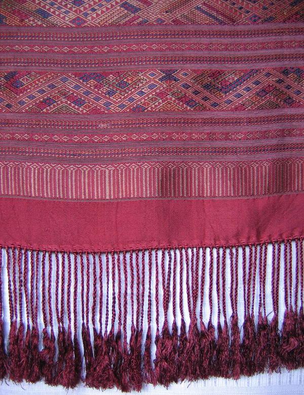 fine silk wall hanging