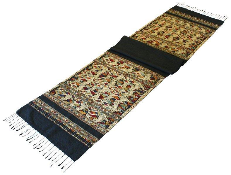 complex silk weaving