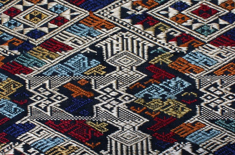 traditional hand woven silk textile SNL17M5