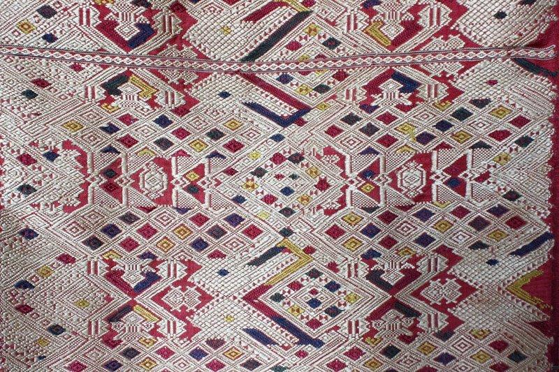 silk textile from Laos SNL18M3