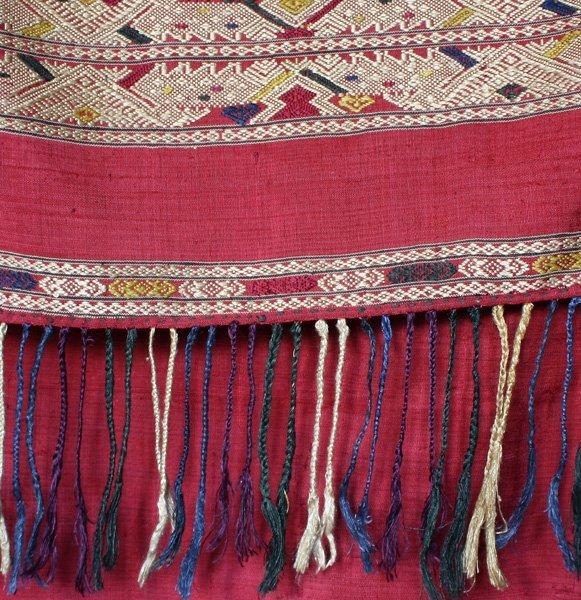 silk textile from Laos SNL18M4