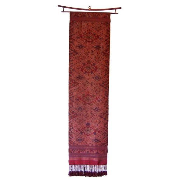 Traditional Silk Wall Hanging Laos