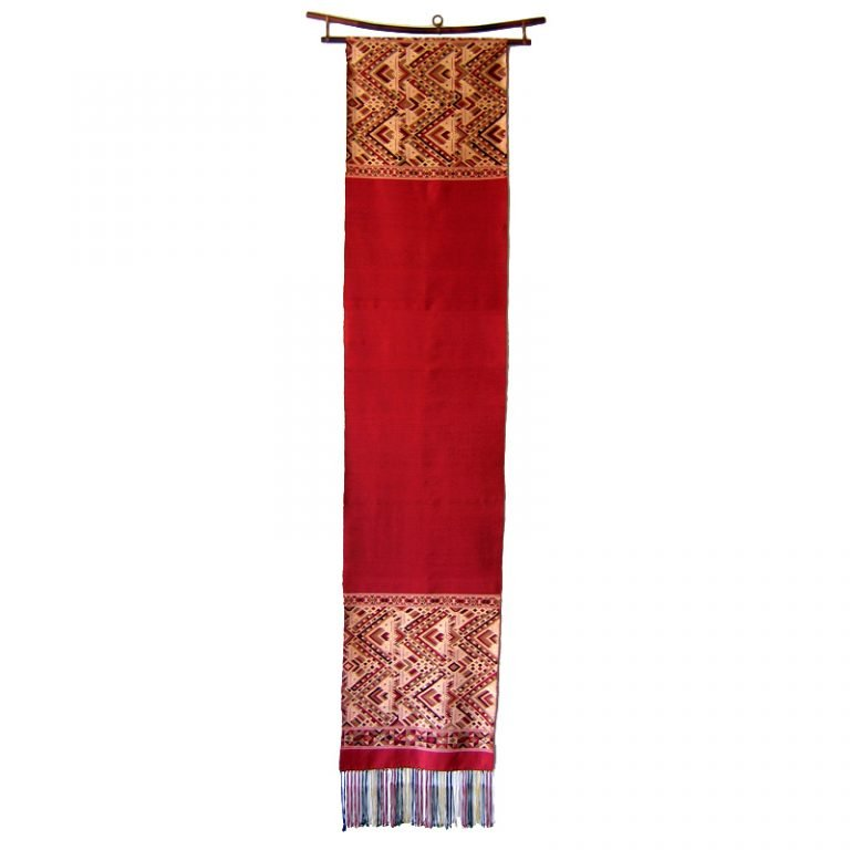 boutique silk wall hanging Laos