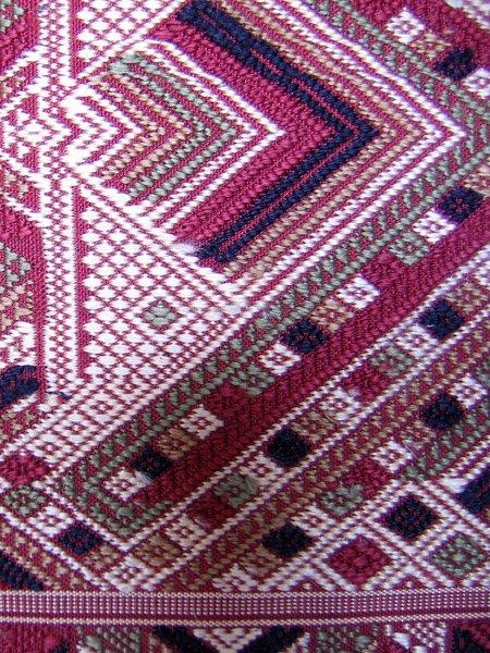 silk textiles Laos