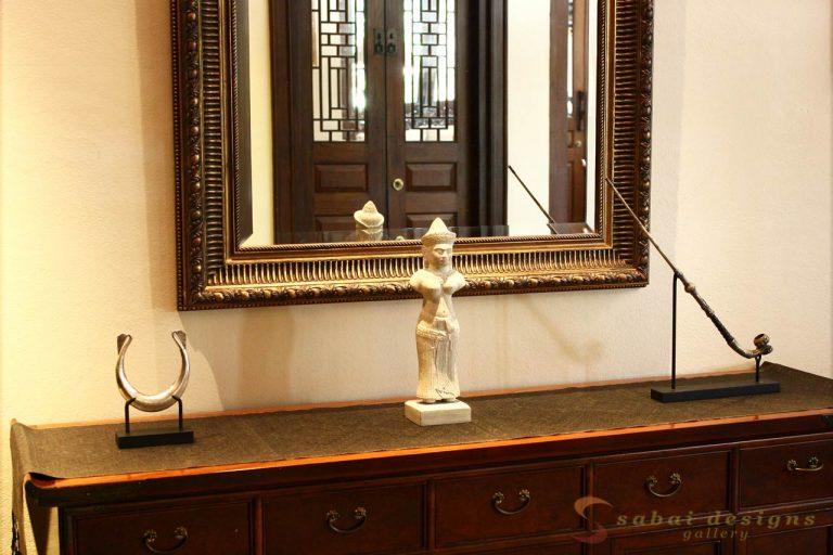 Asian Home Decor Khmer Statue