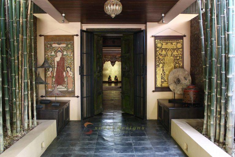 Entrance, Asian Home Decor