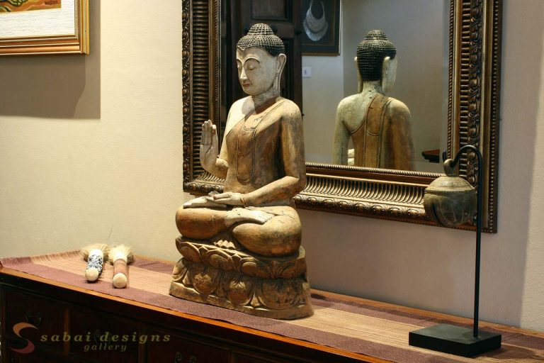 Buddha Statue, Asian Home Decor