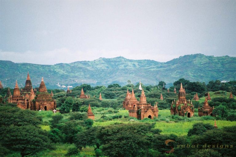 Stupas Bagan Burma
