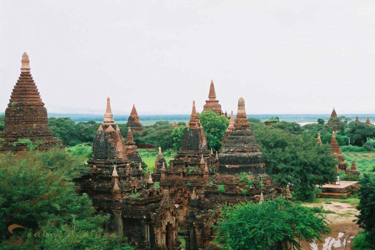 Bagan Burma Stupas