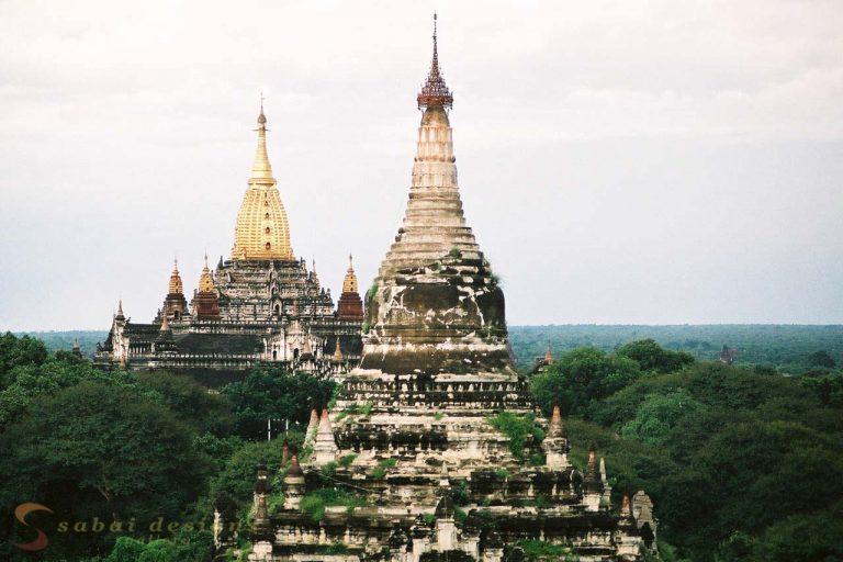Temples Bagan Burma
