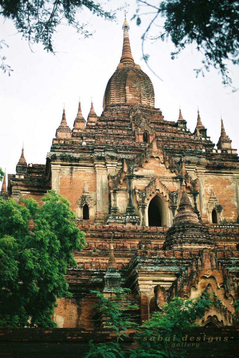 Bagan Stupas Burma