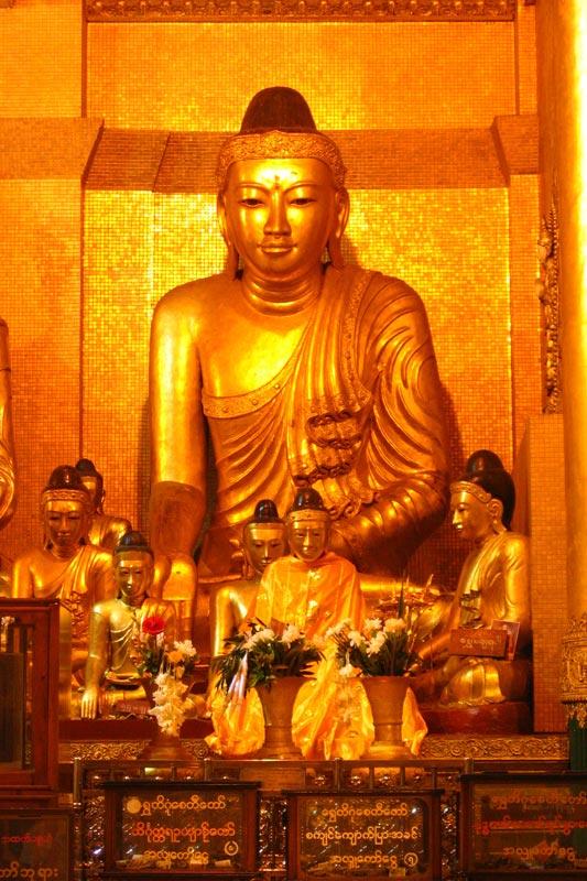 Buddha Shwedagon Paya