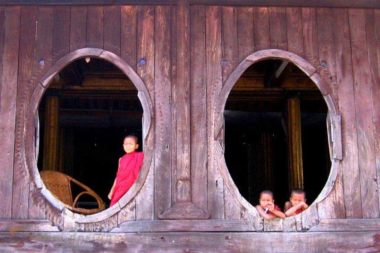 Buddhist Monastery Burma