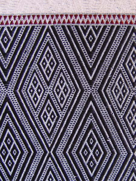 Chin tribal textile from Burma