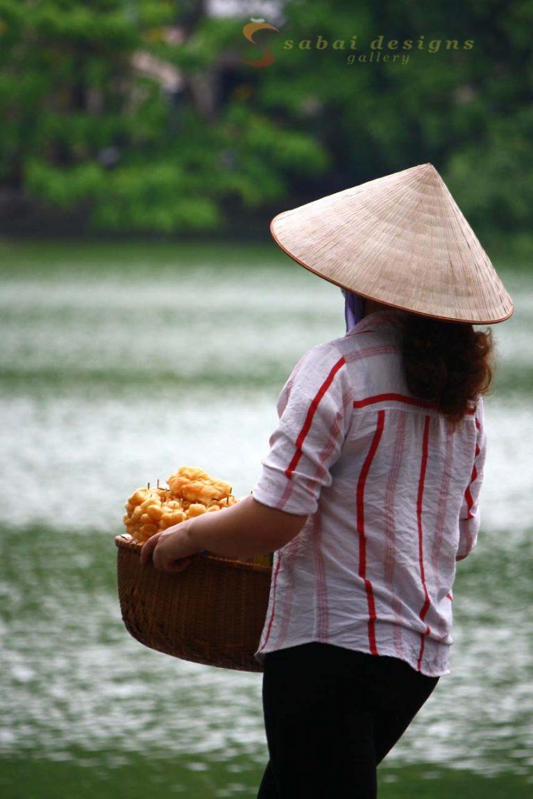 Hanoi, Fruit Seller