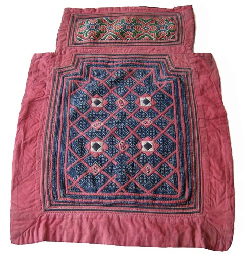 Antique Hmong Baby Blanket