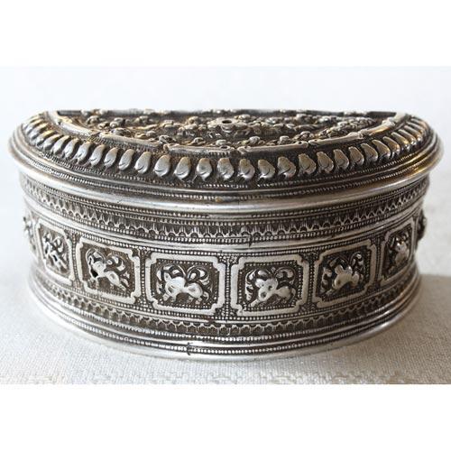 Antique Hmong Silver Box