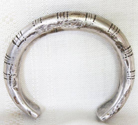 Antique Hmong Silver Bracelet