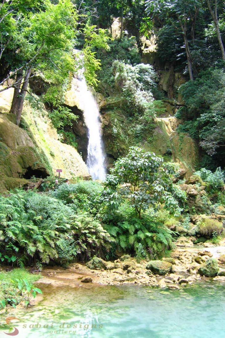 Waterfall, Luang Prabang