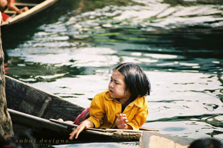 Children Inle Lake Burma