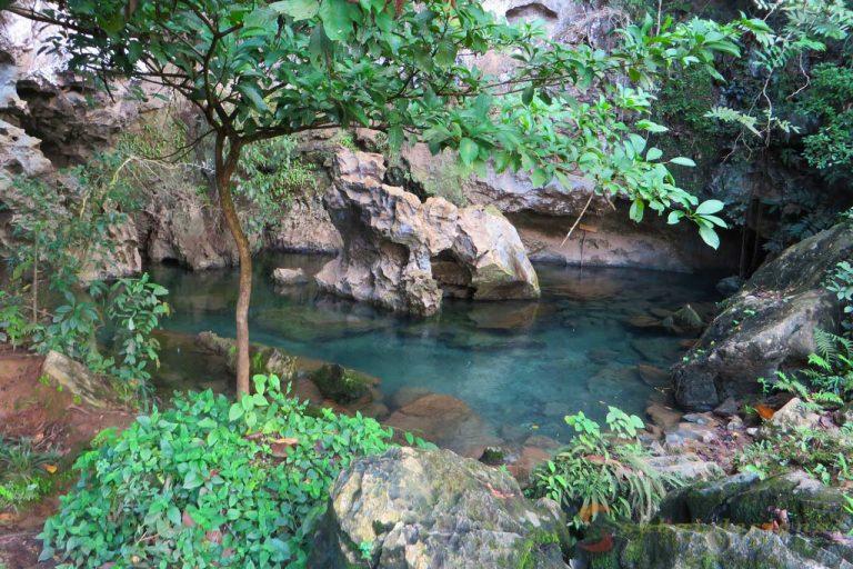 Rock Pool Vang Vieng Laos