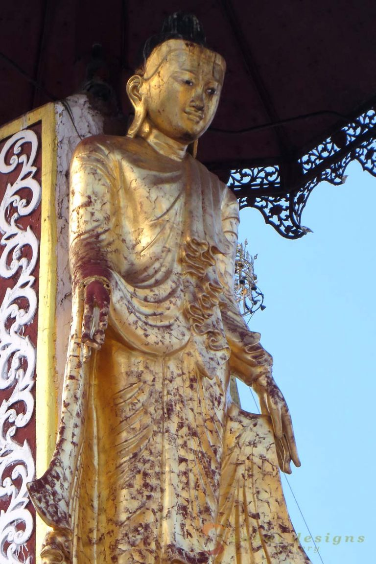 Shewdagon Gold Buddha