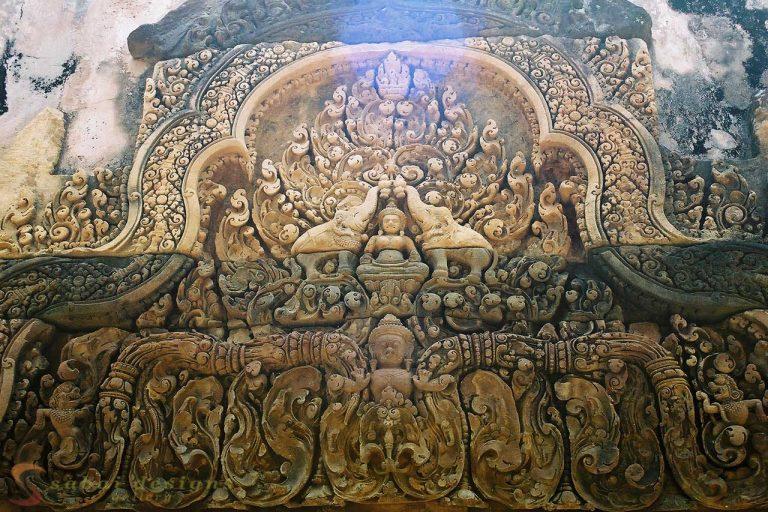 Stone Sculpture Siem Reap