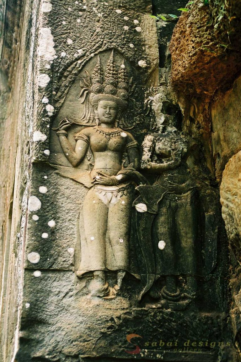 Angkot Wat Sculpture
