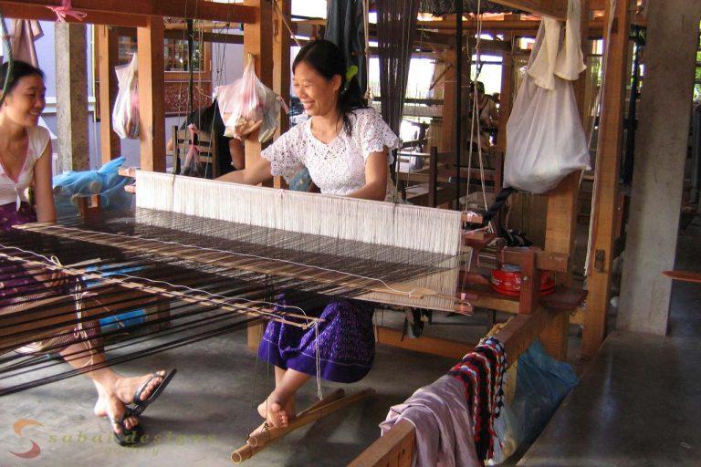 Silk Weaver Laos