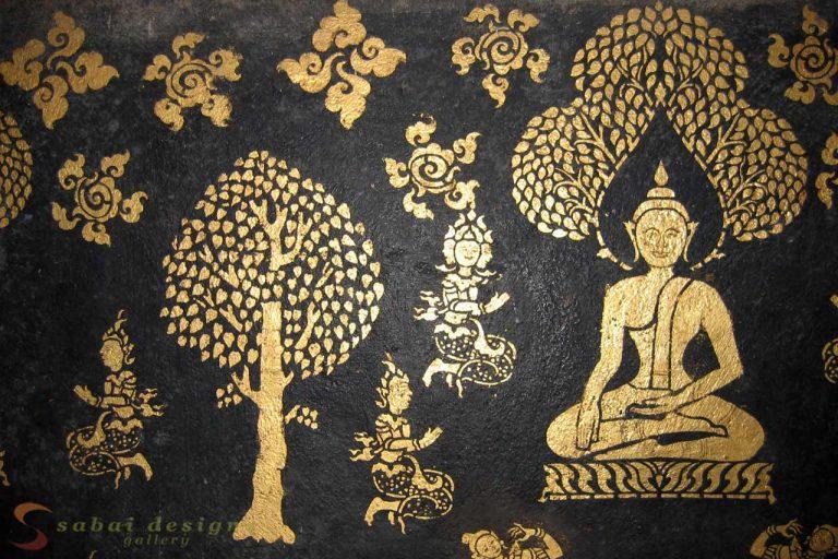 Murals Wat Xieng Thong Laos