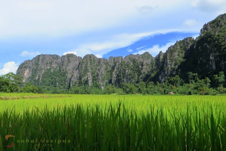 Limestone Cliffs, Vang Vieng