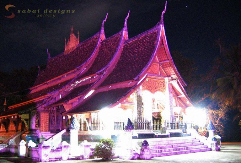 Wat Xieng Thong at NightLaos