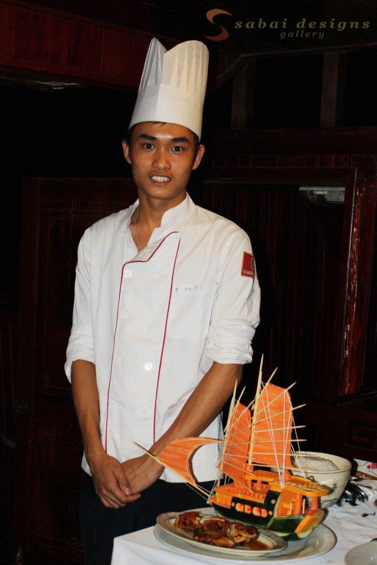 Chef, Halong Bay