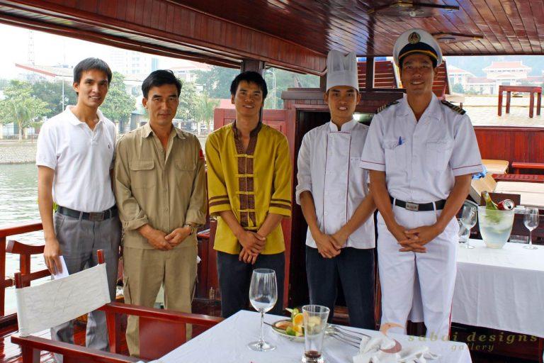 Junk Crew, Halong Bay