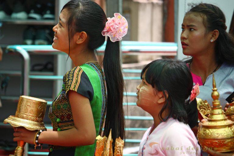 Buddhist Ceremony Yangnon