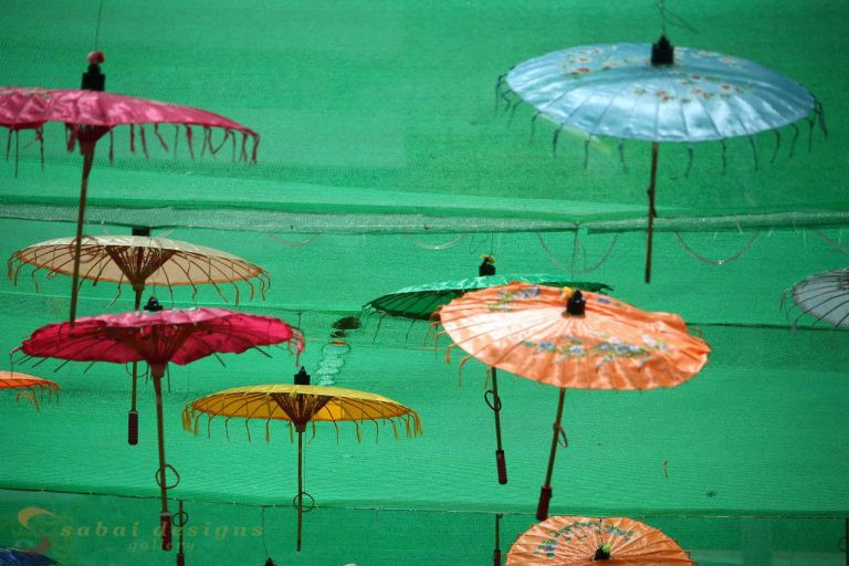 Umbrellas Yangon