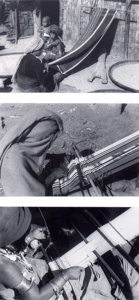 Naga tribe weaving