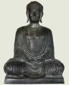 ANTIQUE JAPANESE BUDDHA STATUE