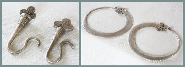 Antique Hill Tribe Silver Jewellery