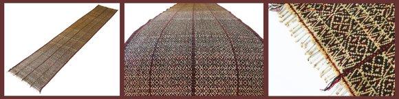 Asian antique Chin textile