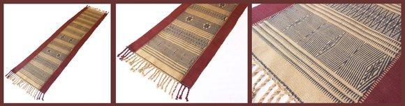 Tribal textiles from Burma