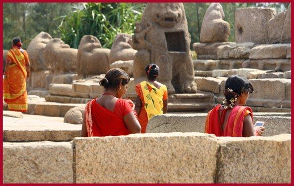 Shore Temple, Mahabalipuram, India.