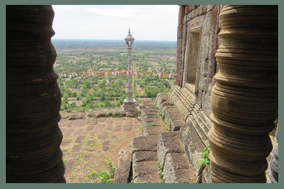 Hindu Temple, Phnom Chisor, Cambodia