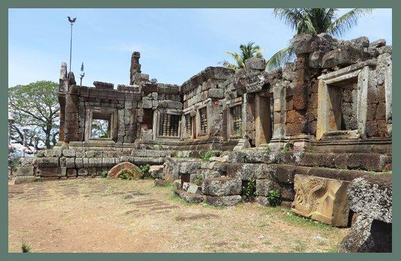 Ruins of Phnom Chisor, Cambodia