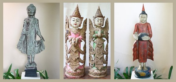 Buddha Wood Carvings