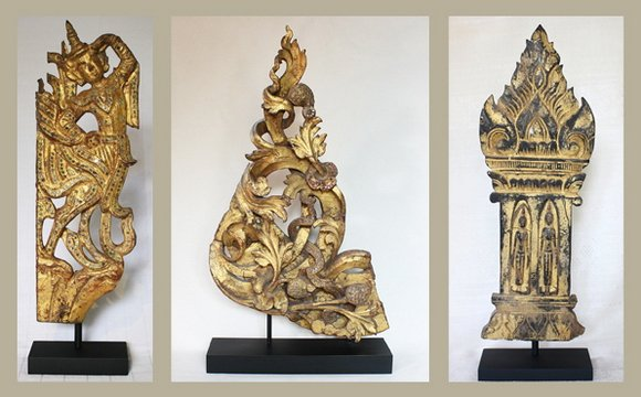 Antique Wood Carvings